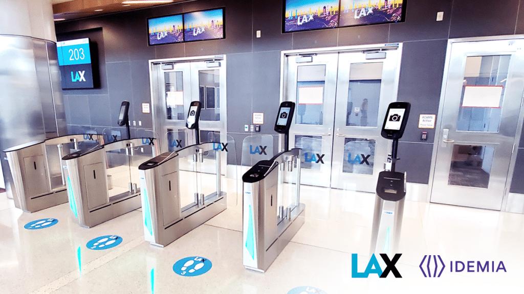 IDEMIA at LAX airport